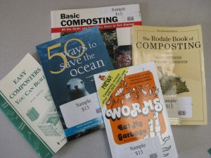 Read up on composting and how to the save the ocean!